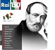 Il sito RAI 150